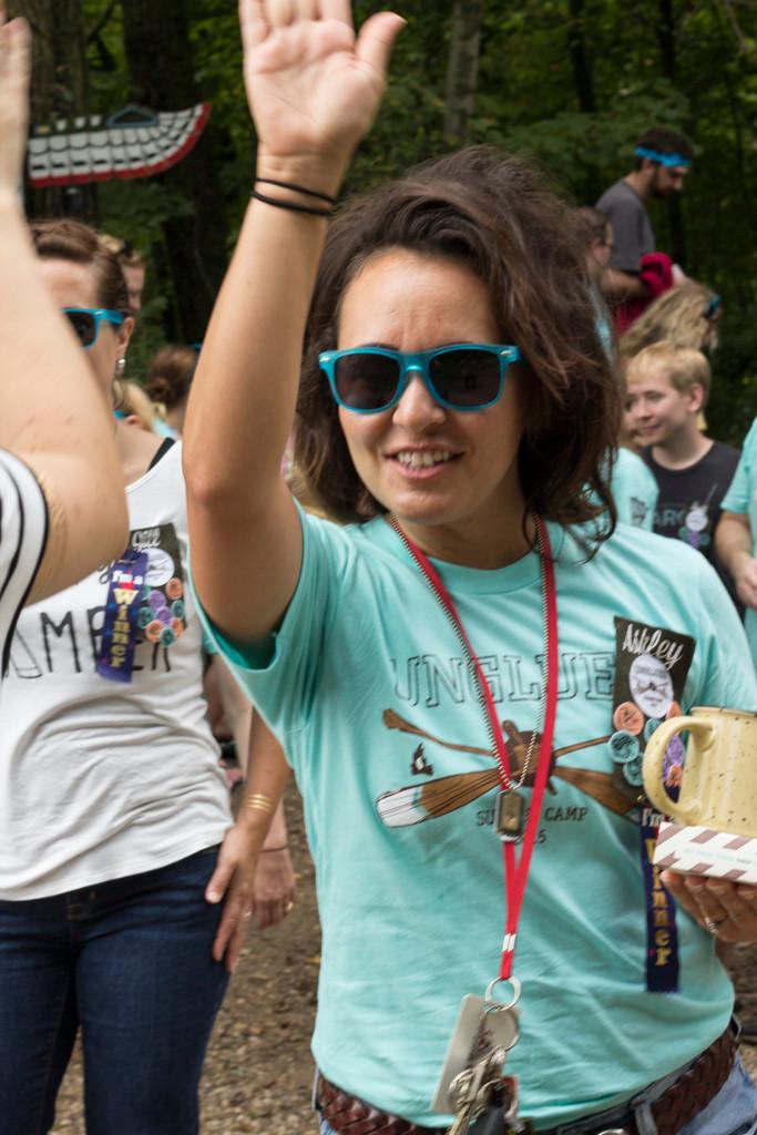 summer camp high five