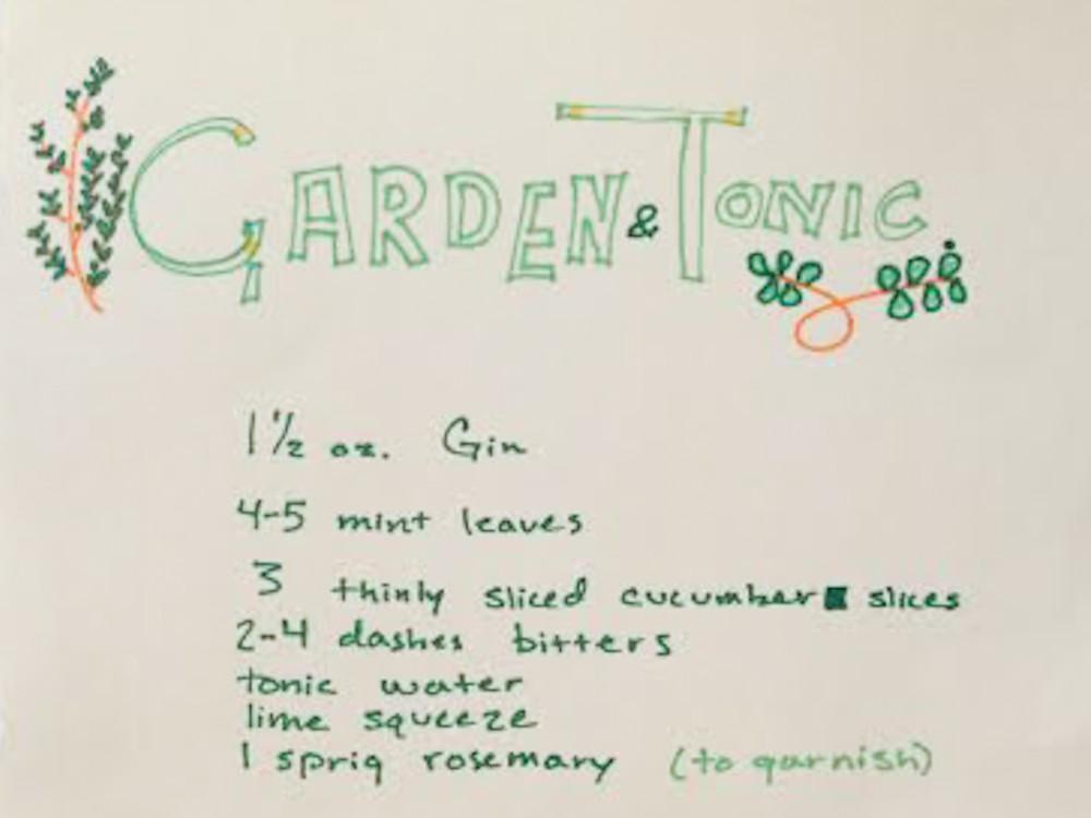 garden ginger cocktail2-1