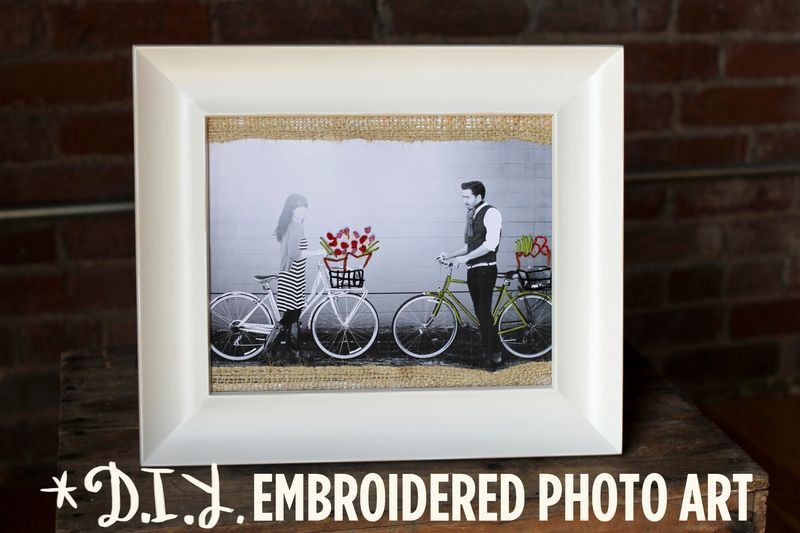 embroidery photo art