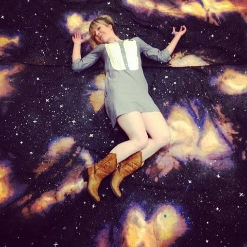 allie galaxy background