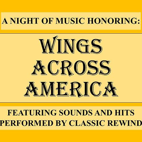 Wings Across America - April 4th, 2022