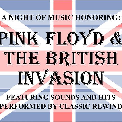 Pink Floyd/British Invasion - January 28th, 2022