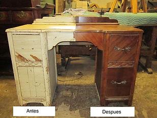 Restauración muebles Madrid