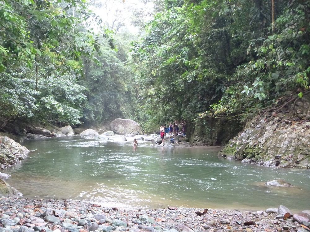 Natural pool at Pachijal river