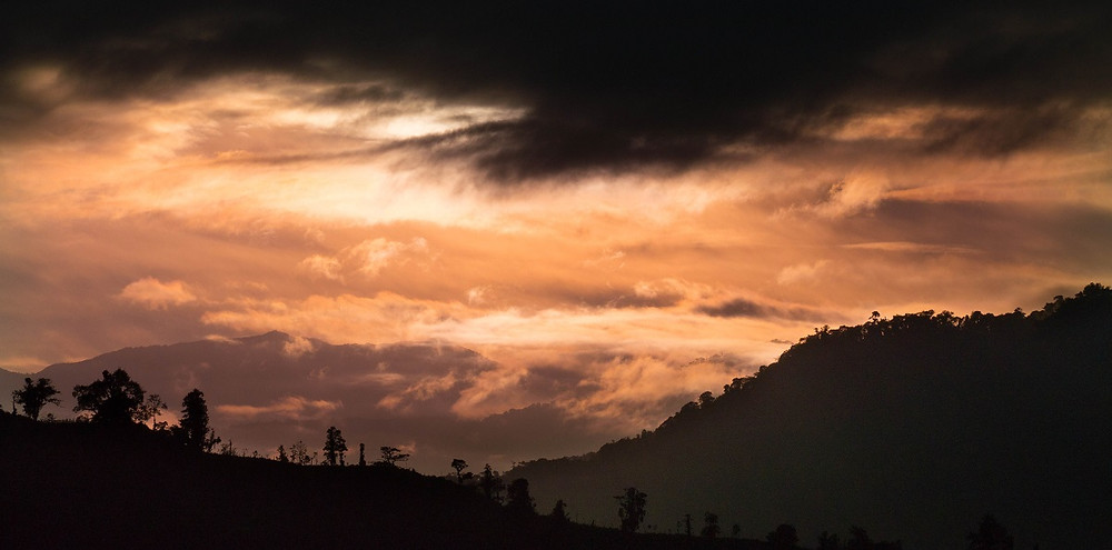 Morning view into the Pachijal valley