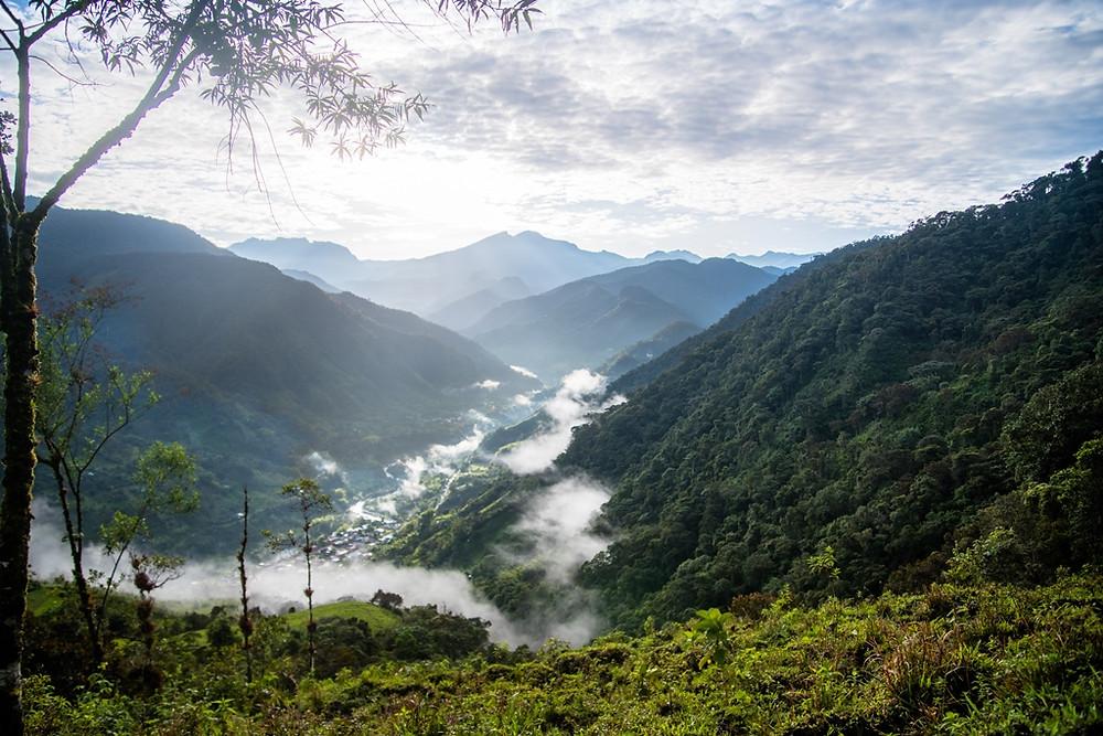 Mountains on the Colombian border. ©Jens Bokelaar