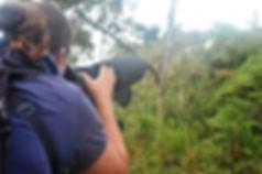 Vogelzählung Biologische Station Un poco del Chocó Ecuador Südamerika