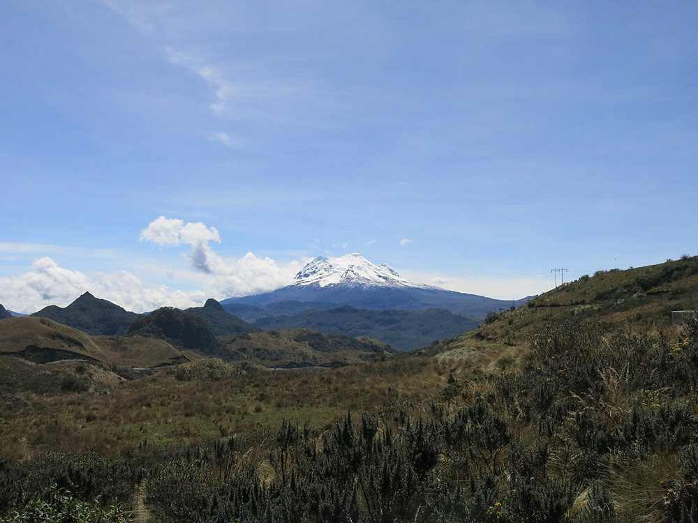 Volcano Antisana (5704m)
