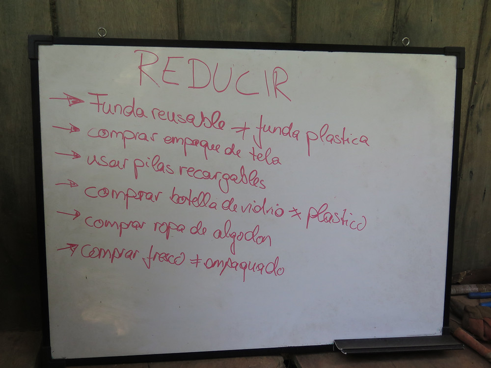 Kids ideas on how to reduce trash