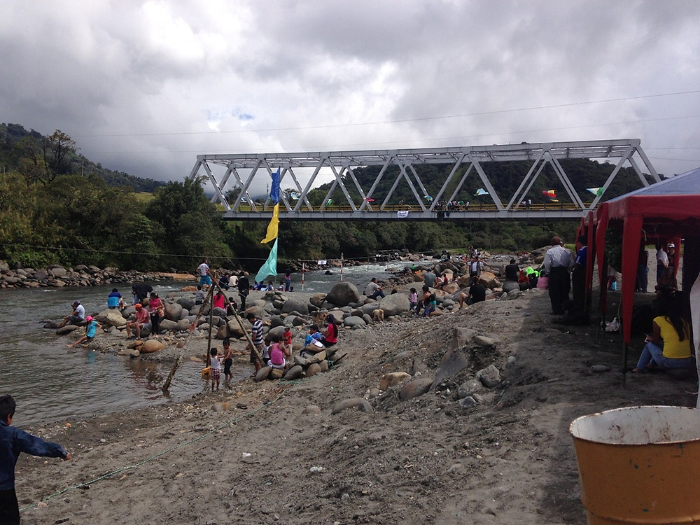 Bird count fiesta in Cosanga with rafting, rapelling and lots of local food