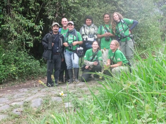 The most international group of birders!