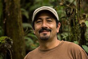 Wilo Vaca, volunteer supervisor at biological station Un poco del Chocó in Ecuador South America