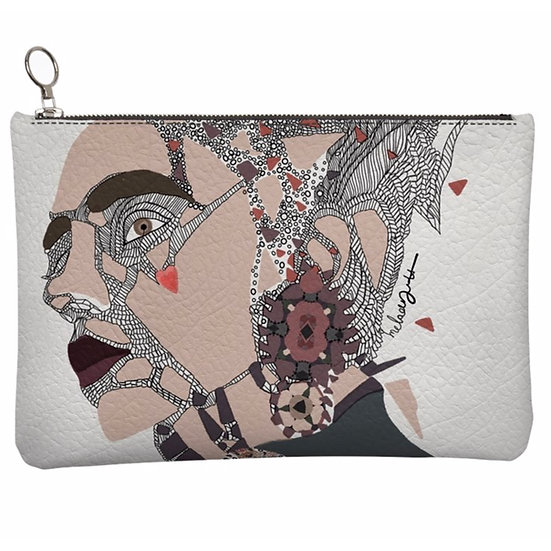 Love, Leather Clutch Bag