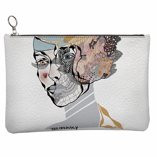 Frequency, Leather Clutch Bag