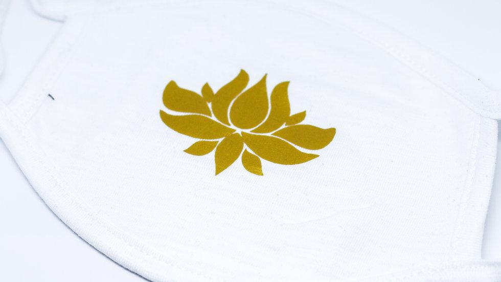 PHC Logo Face Mask - White