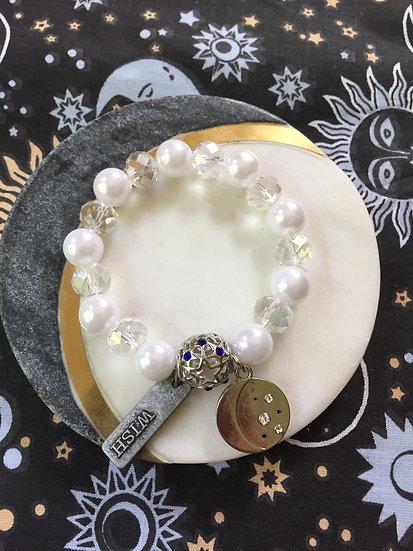 Holistic Bracelets Full Moon wish dream stars beautiful energy
