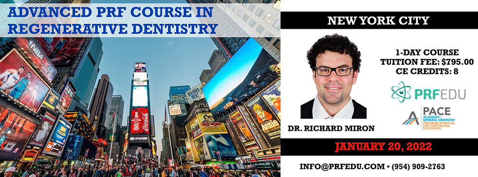 Advanced PRF in Regenerative Dentistry N