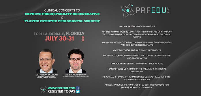 Soft Tissue Workshop - 2-day Theoretical / Practical - July 30-31, 2021