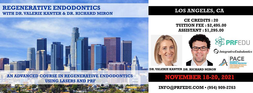 Regenerative Endodontics Los Angeles Nov