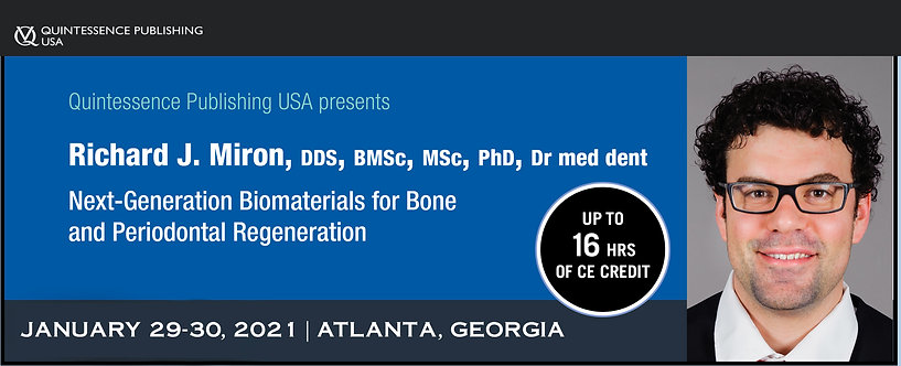 2 day PRF, Biomaterials and Lasers Course, January 29-30, 2021 Atlanta, Georgia