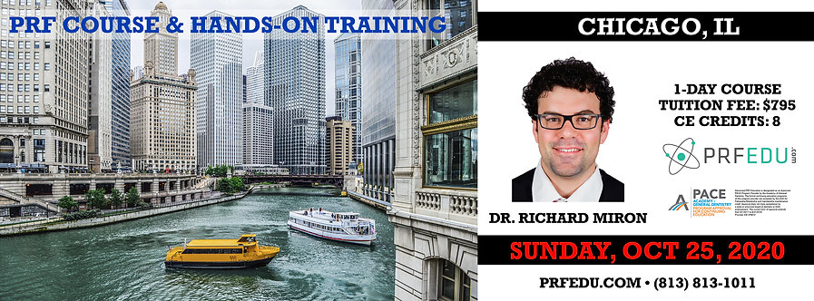 1 day PRF Course in Chicago, October 25, 2020