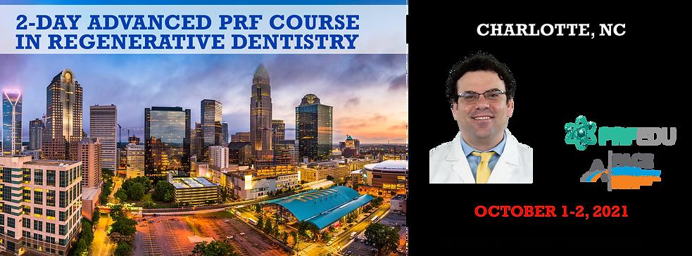 2-day Advanced PRF in Regenerative Dentistry Charlotte October 1-2, 2021.png