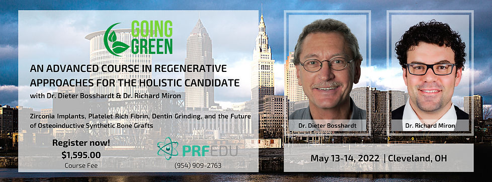 Going Green - Cleveland May 13-14, 2022.