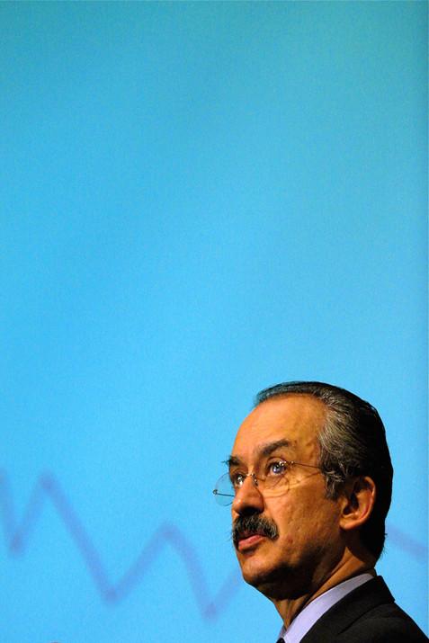 Mexico Finance Minister Francisco Gil Diaz.