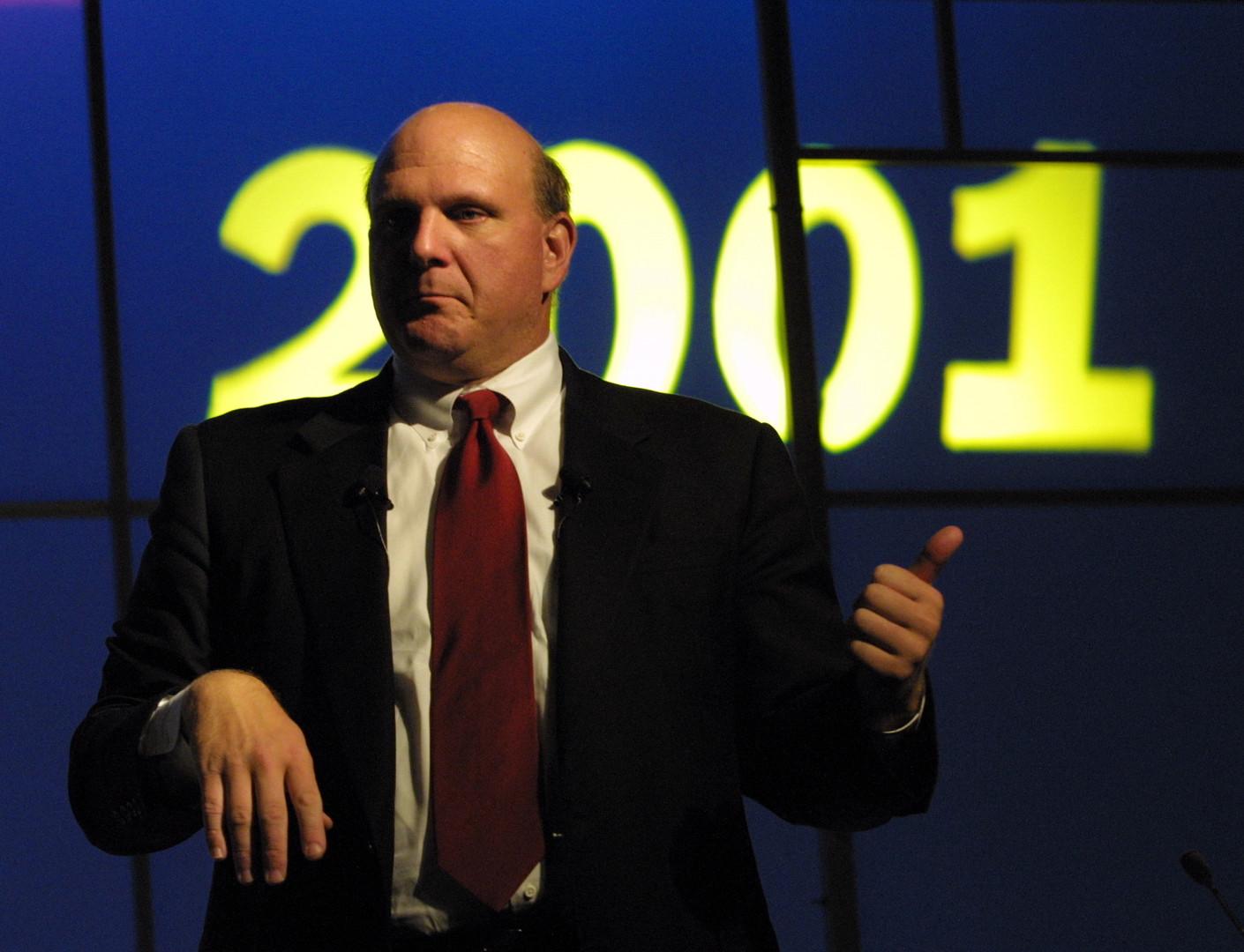 Steve Ballmer,Director of Microsoft.