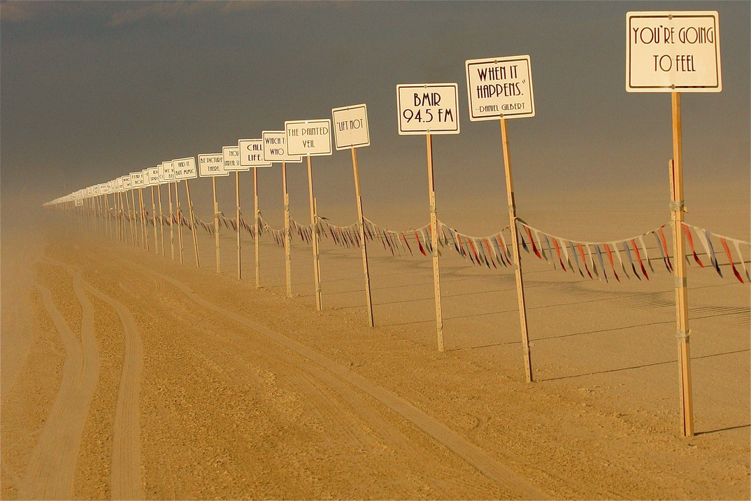 06 On the road to Burning Man Festival,