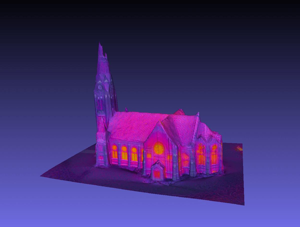 Fastighetsinspektion 3D IR / Värmekamera