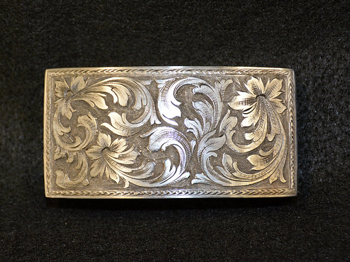 Box Style Belt Buckle by Michael Tittor