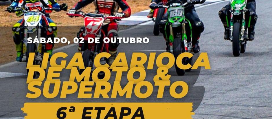 A 6ª etapa da @ligacariocademoto está chegandoooo!!! 📢