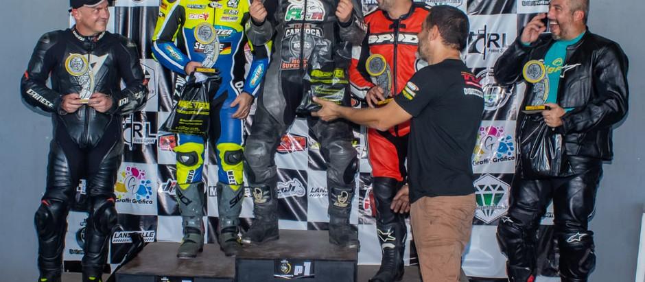 Premiação da 4° etapa do Campeonato Liga Carioca de moto!