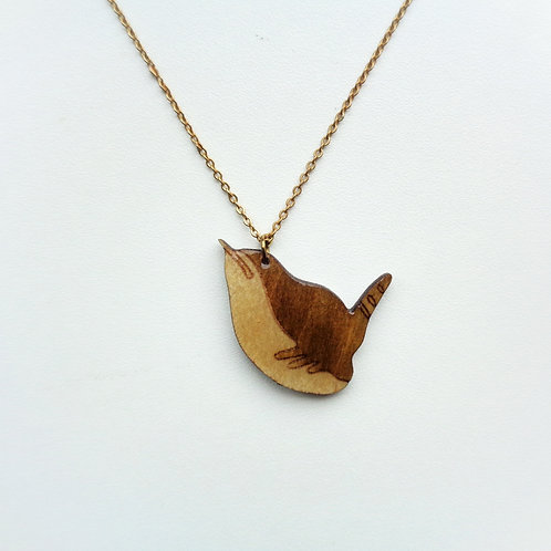 Modern Wren Necklace