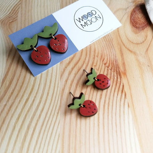 WHOLESALE Strawberry Drop Studs