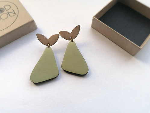 Autumn Harvest Pear Earrings