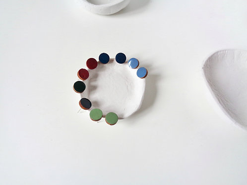 Round Colour Pop Studs