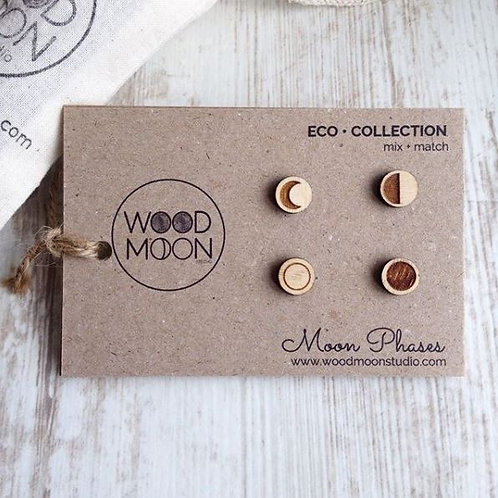 WHOLESALE Mix + Match Moon Phase Studs