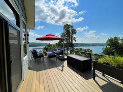 Split Rock Lake House - Deck View