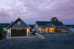 Split Rock Lake House - Rear Elevationlit Rock Lake House - Street View