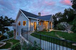 Split Rock Lake House - Rear Elevationlit Rock Lake House - Patio