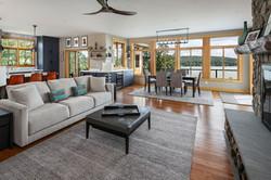 Split Rock Lake House - Rear Elevationlit Rock Lake House - Living Room