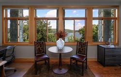 Split Rock Lake House - Rear Elevationlit Rock Lake House - Office