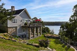Split Rock Lake House - Rear Elevationlit Rock Lake House - Lake View