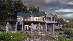Split Rock Lake House - Rear Elevationlit Rock Lake House - Rear Elevation