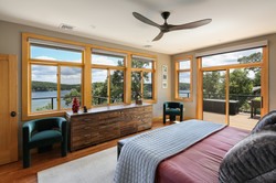 Split Rock Lake House - Rear Elevationlit Rock Lake House - Bedroom