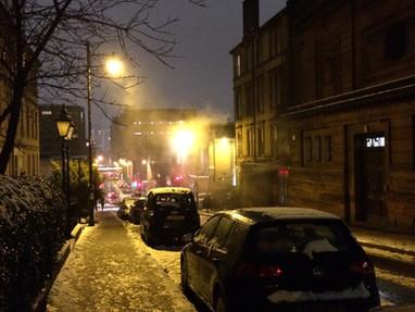Winter Greetings from Gloomy Glasgow