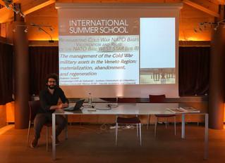 "Participation at International Summer School ""Re-inhabiting Cold War NATO Bases Valorization and Reu"