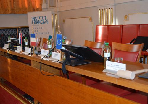 Simulácia európskeho parlamentu na Filozofickej fakulte Univerzity Pavla Jozefa Šafárika v Košiciach